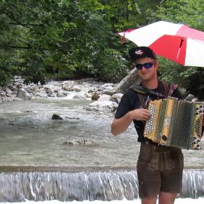 Die Cold Water Challenge der Blechbuam