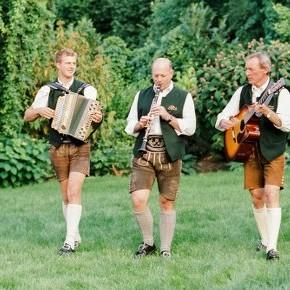 Blechbua Hochzeit